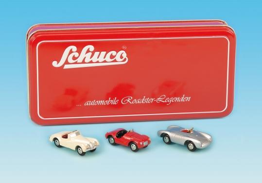 "Schuco Piccolo Set /""Roadster Legenden/""   # 50127006"